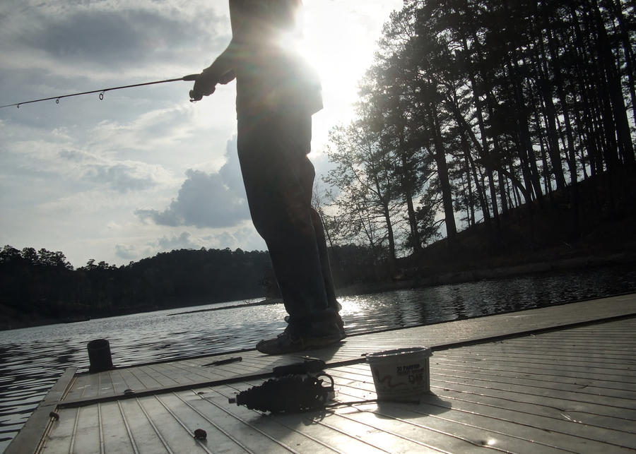Fishing [HDR] by XanthusKidd