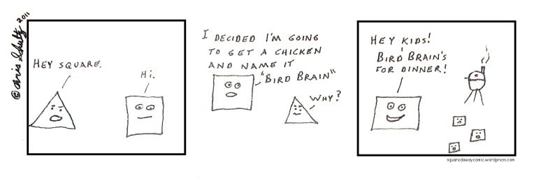 Squared Away Bird Brain by XanthusKidd