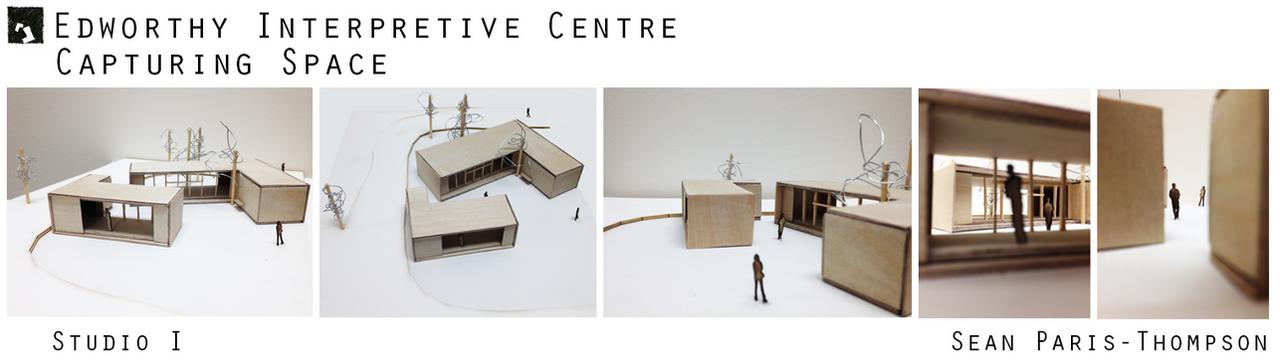Edworthy Interpretive Centre - Model by Seanpt-Architecture