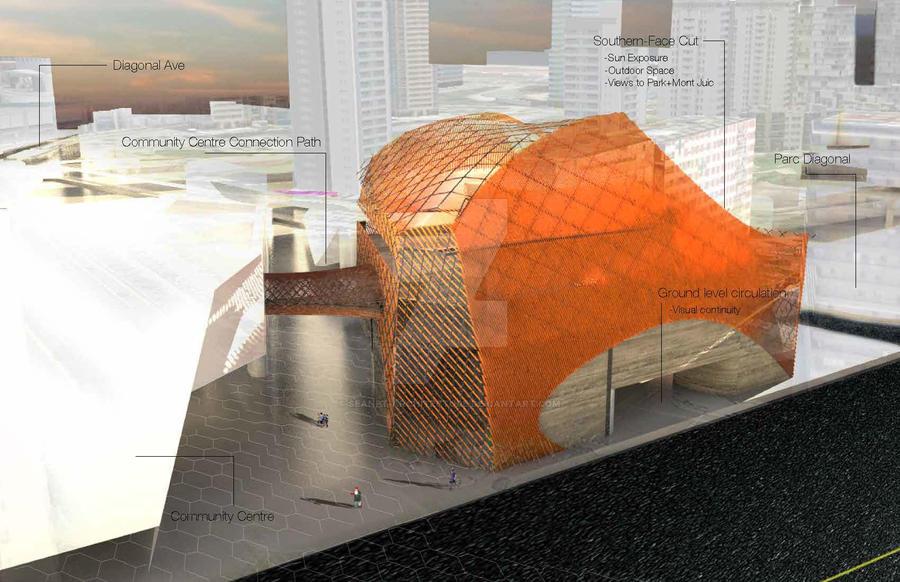 Barcelona - Masterplanning Studio by Seanpt-Architecture