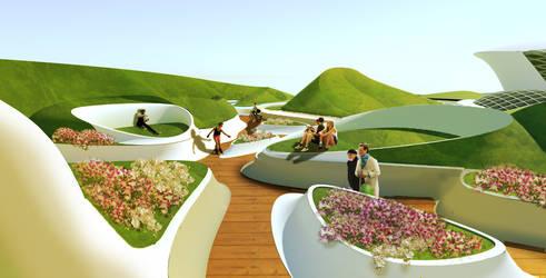P.O.D.S. - Orchid Museum - Urban Park by Seanpt-Architecture