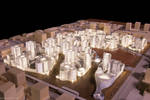 Underlit Urban Development Model by Seanpt-Architecture
