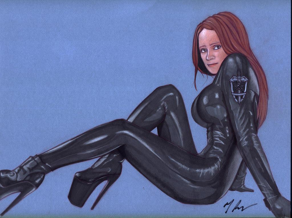 Sexy Soviet Agent by rodfern2011