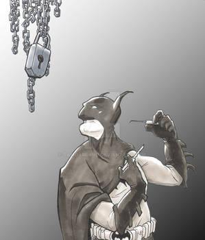 Batman Commission Color