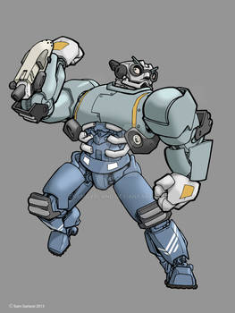 Father Robot color