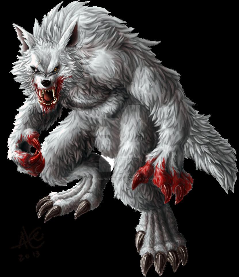 Alpha Werewolf by Alicemonstrinho