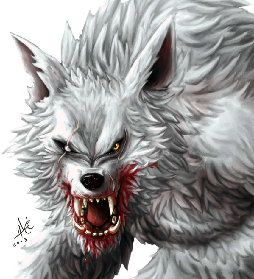 Alpha Werewolf  detail by Alicemonstrinho