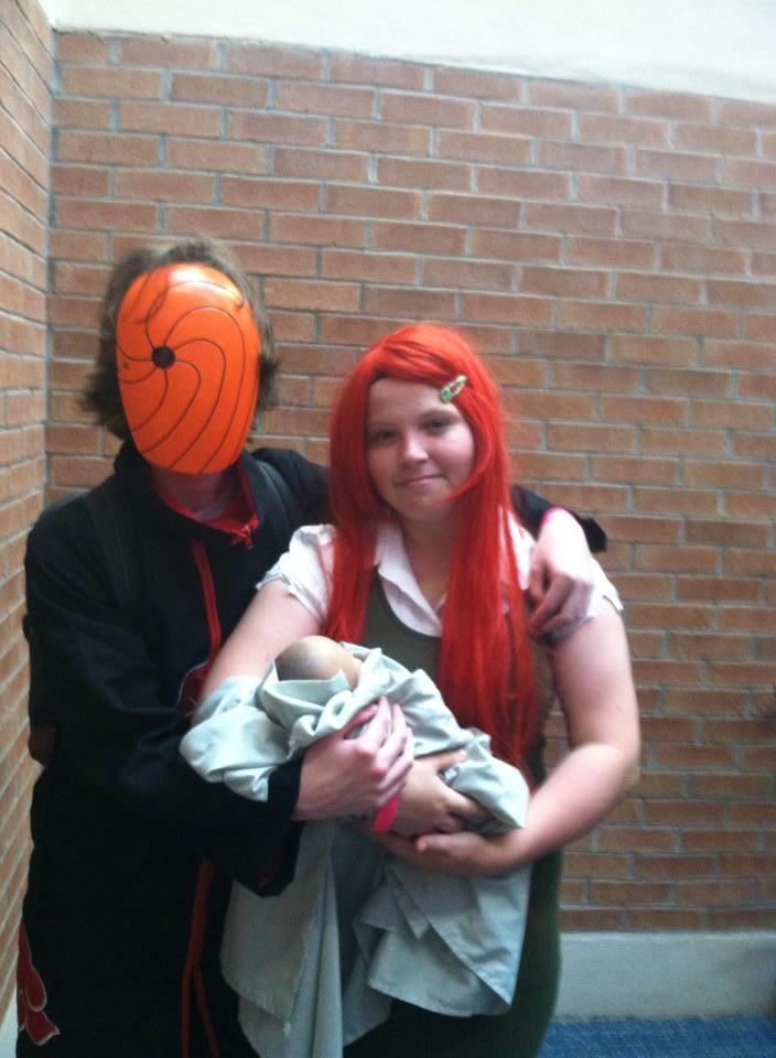 Obito and Kushina by Nina--chan