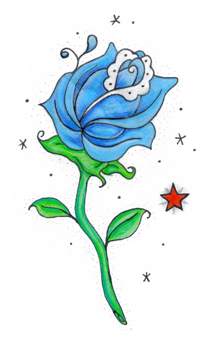 rose tattoo by 99badkittys on deviantART