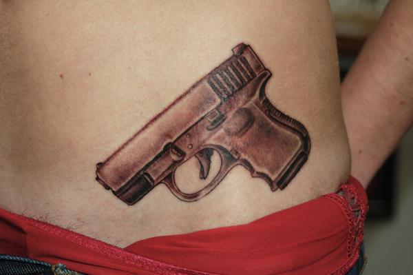 gun tattoos glock