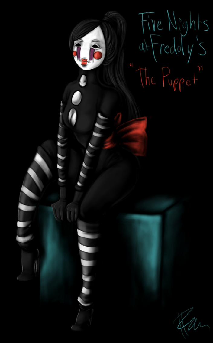 Five nights at freddy s the puppet by roselynnn on deviantart