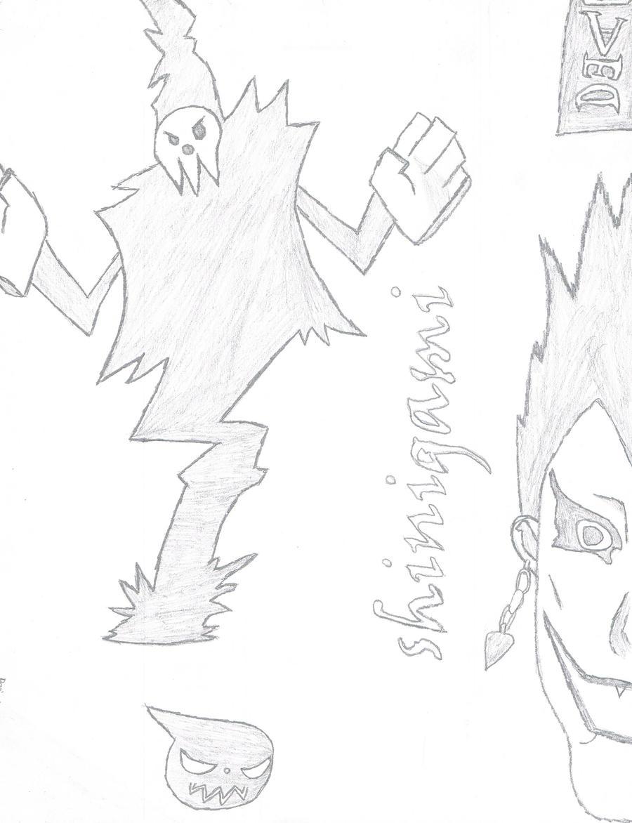 Shinigami fan art by BeginningRomance