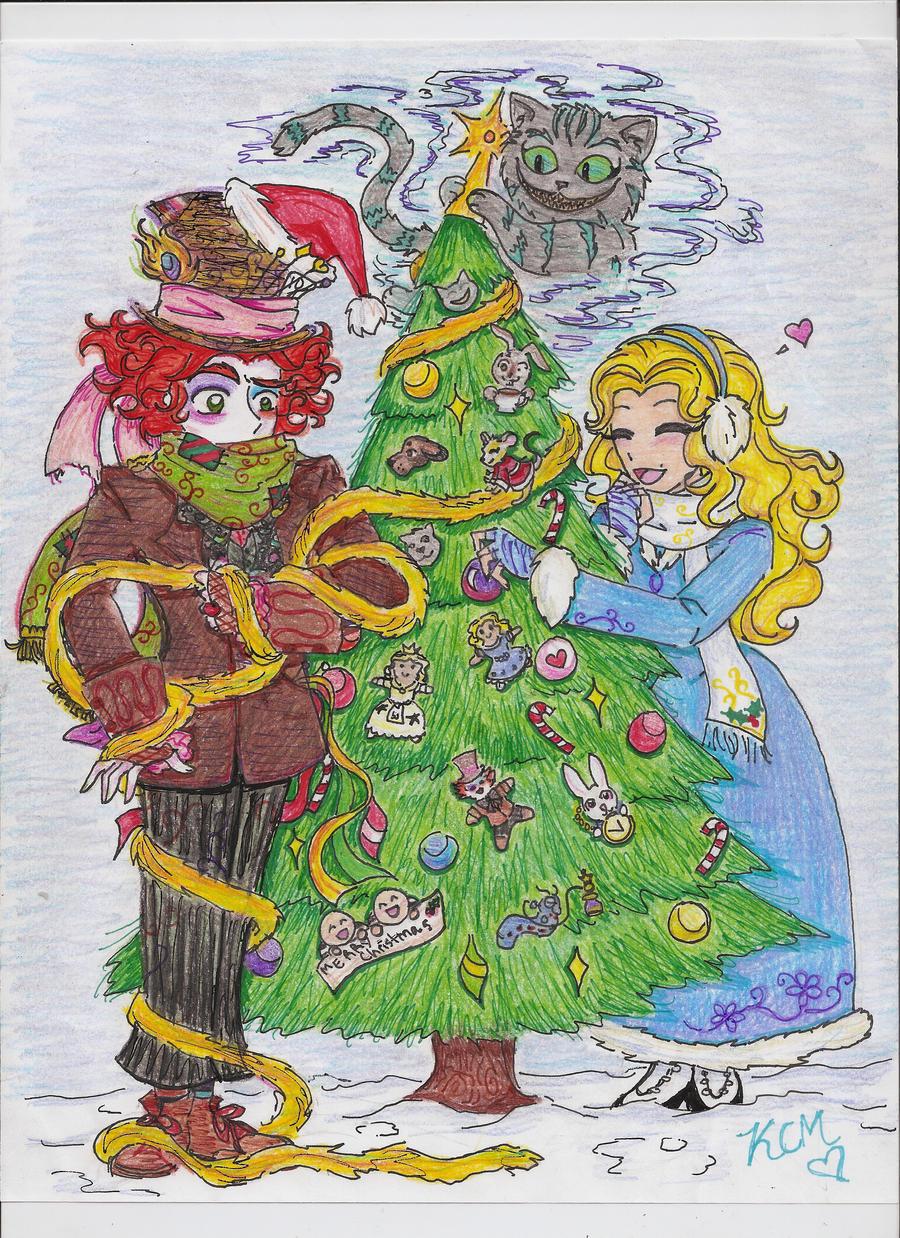 Christmas in Wonderland by Kiyomi-chan16