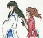 Haku's hair
