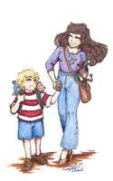 Sibling Love by Kiyomi-chan16