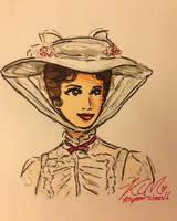 Mary Poppins by Kiyomi-chan16
