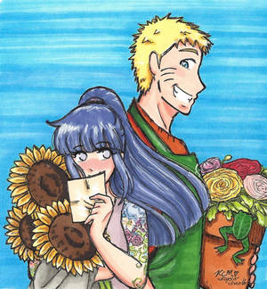 Naruhina: A Flower For Your Thoughts