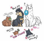 YOI: Dogs AU