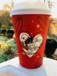 Starbucks holiday cup- YOI