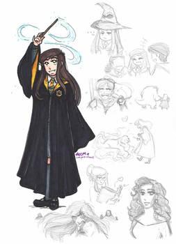 Labyrinth: Hogwarts AU- Sarah Williams
