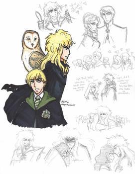 Labyrinth: Hogwarts AU- Jareth Williams