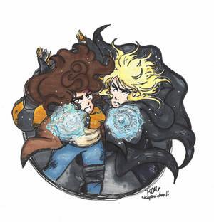 Labyrinth: Hogwarts AU- Sarah and Jareth
