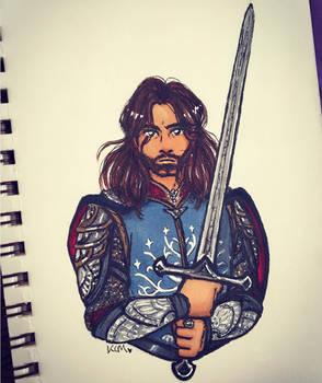 LOTR prompt #9: Aragorn