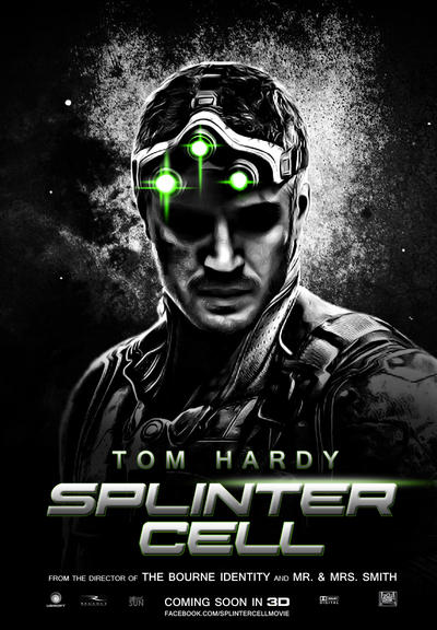 'Splinter Cell' Movie Poster by Sonic-Sun on DeviantArt