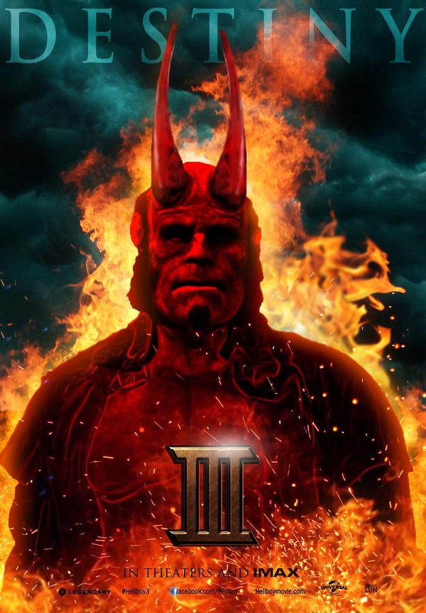 Hellboy III Poster by Sonic-Sun on DeviantArt