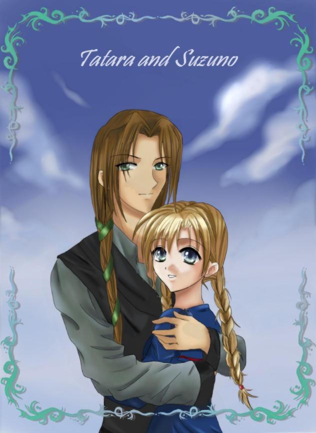 Tatara and Suzuno by Natsukochan
