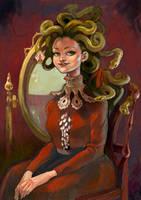 Victorian Medusa by cbernie