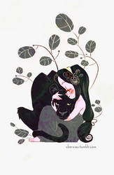 panthergirl by cbernie