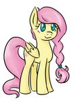 02-04-2016 Fluttershy Braid Redo Colored
