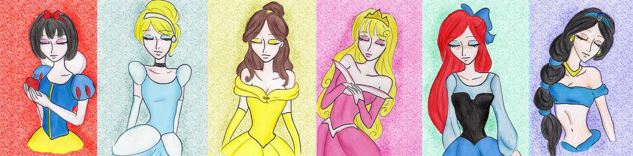 Disney's Princesses by keep-breathing