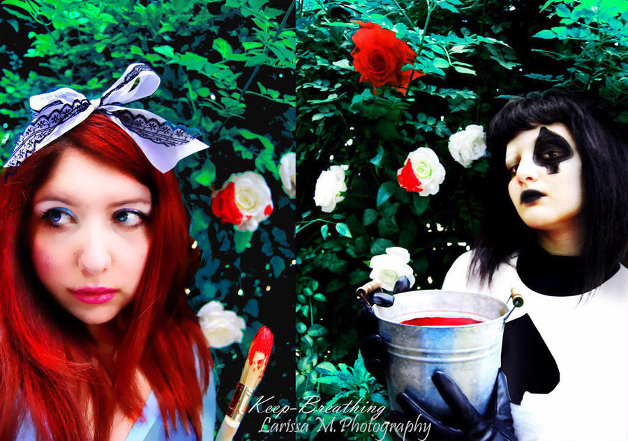 We Are Painting the Roses Red by keep-breathing