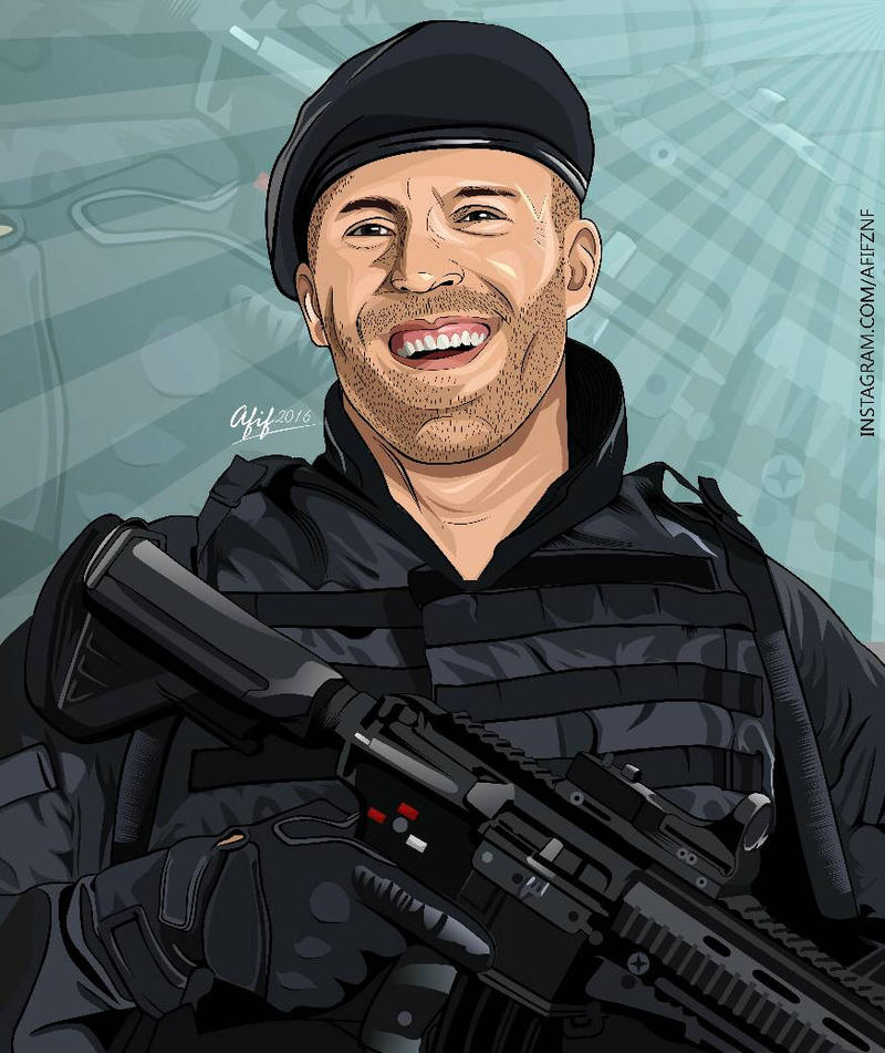 Lee Christmas. The Expendables. (Jason Statham) by yasinaffif on ...