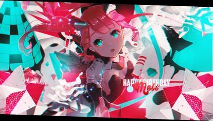 Happy Birthday Meli!