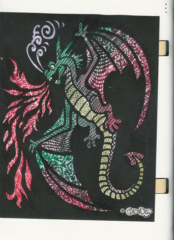 Blendy Pens - Dragon by DrearyIdiot