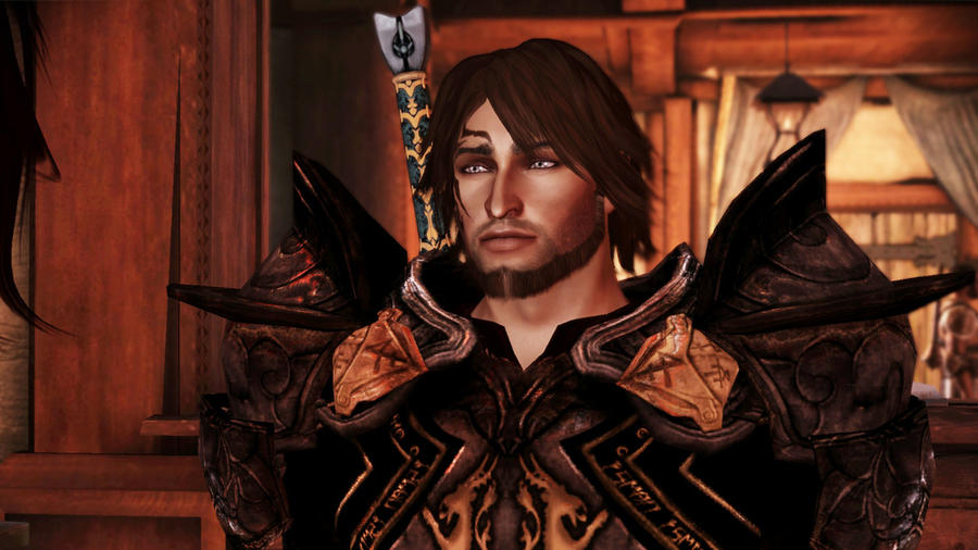 11 fan images of Dragon Age Origins I'd suggest David Boreanaz as Alistair.