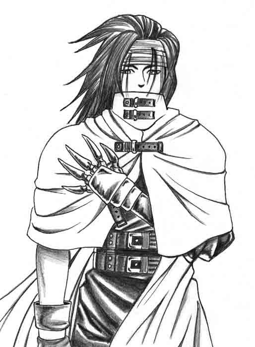 Final Fantasy Vii Coloring Pages Coloring Pages