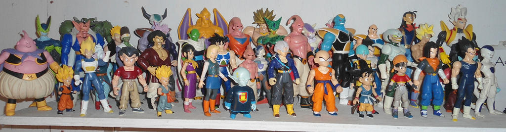 Dragon Ball Z Figures by Nite-Lik