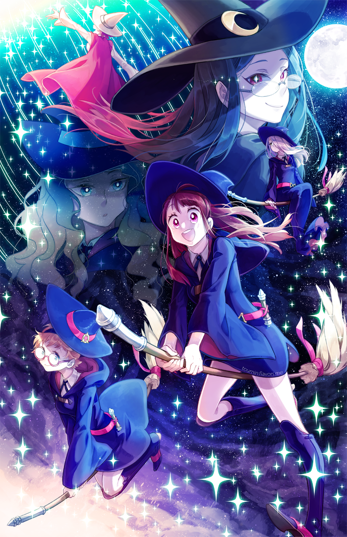 Little Witch Academia by toumin on DeviantArt