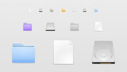 WIP - Samee icons by Kshegzyaj
