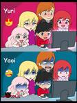 Yuri is felicidad