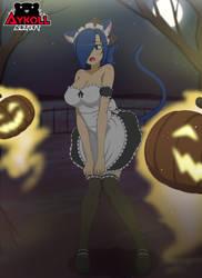 Kathryn Maid Halloween