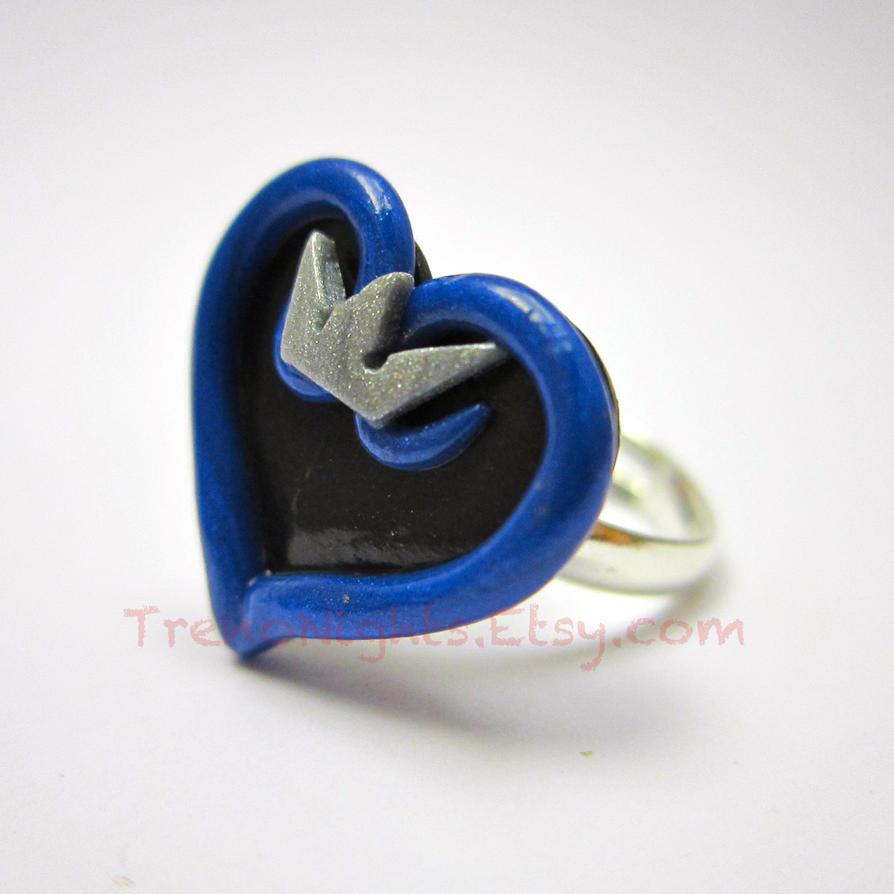Kingdom Hearts inspired ring by TrenoNights