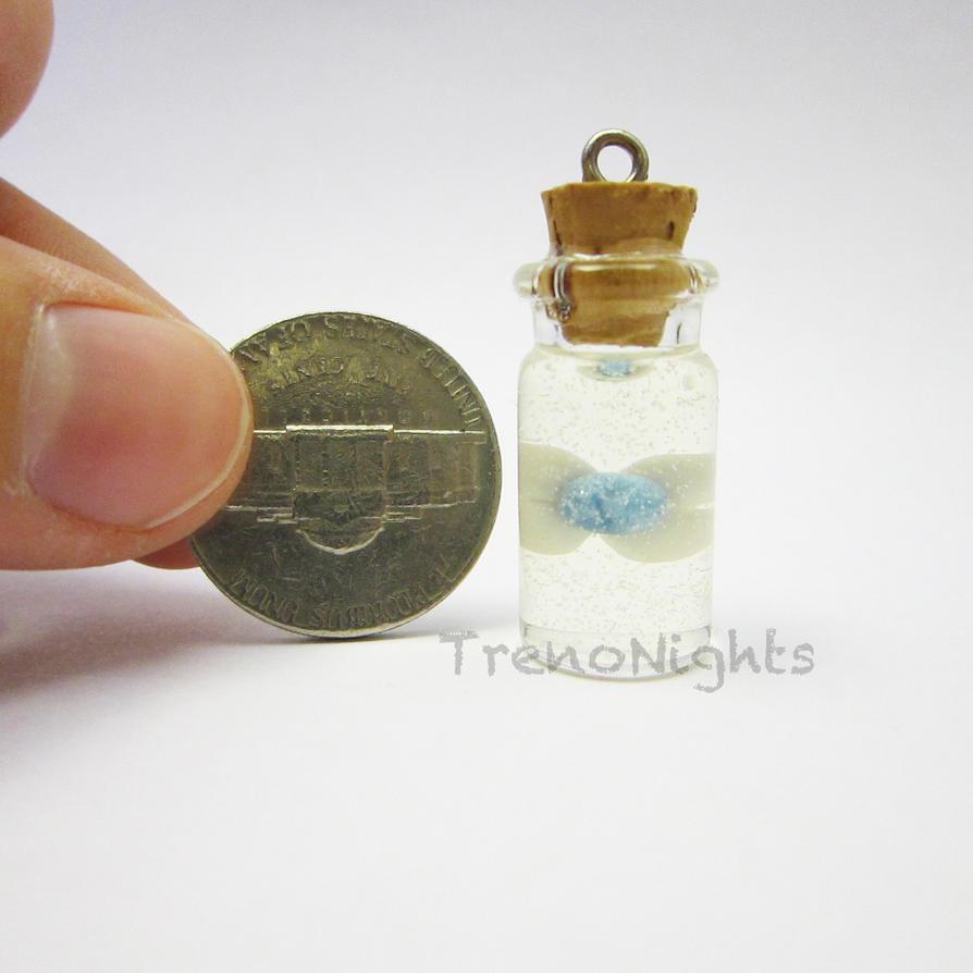 Water Bottle Zelda: Legend Of Zelda Inspired Blue Fairy In A Bottle By