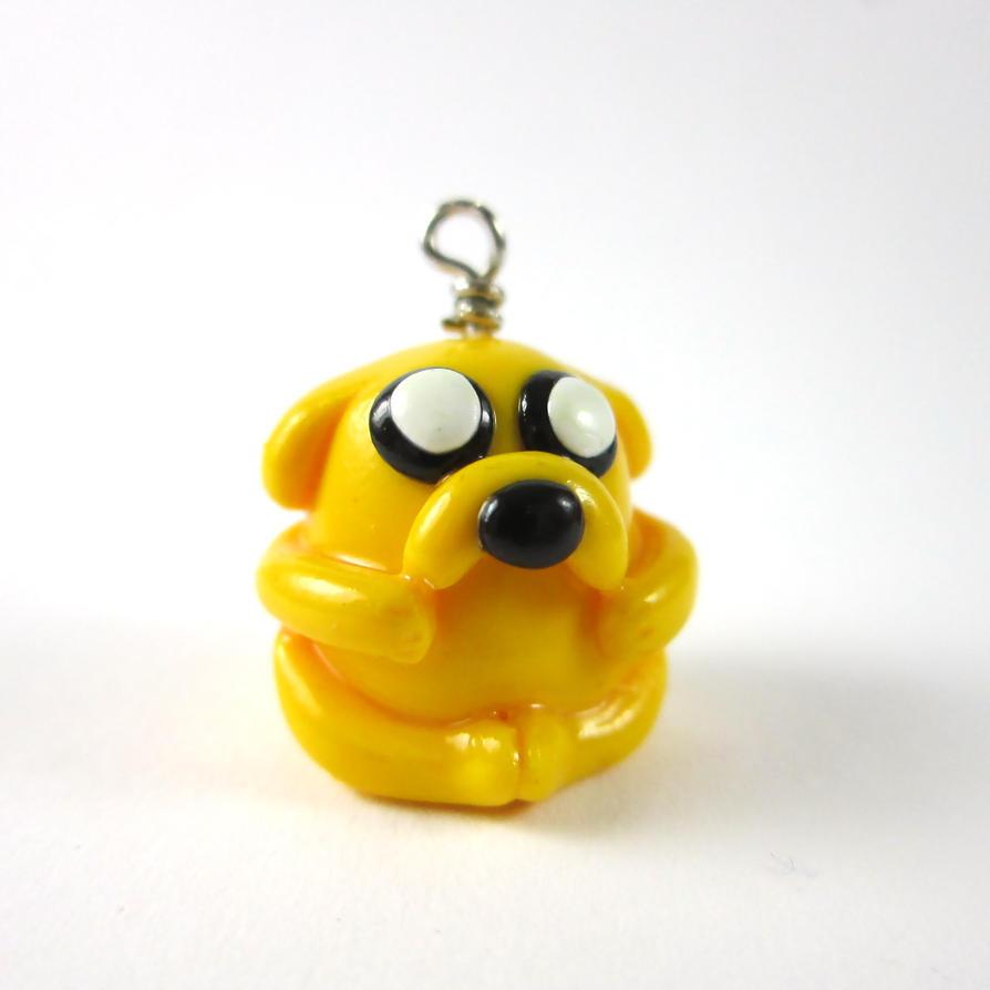 Jake the dog charm by TrenoNights