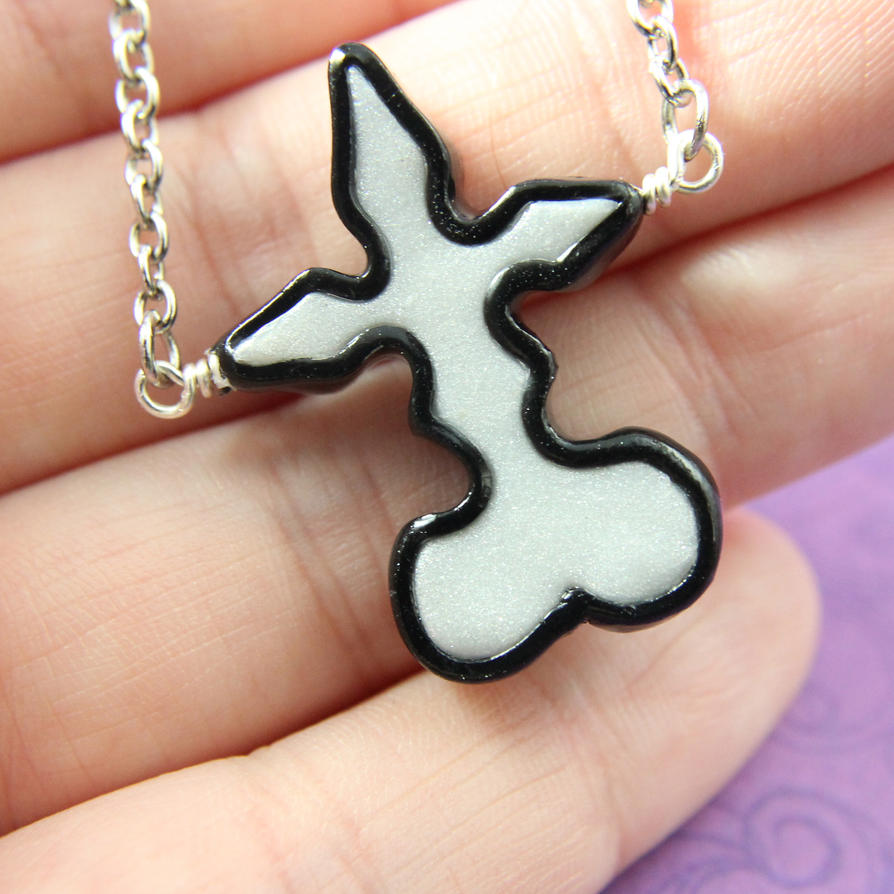 Kingdom Hearts Nobody Symbol Necklace By Trenonights On Deviantart