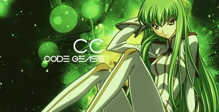 Code Geass C.C. Signature by akito92HUN